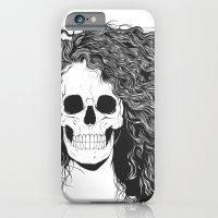 SKull GIrls 2 - Sea Navy iPhone 6 Slim Case