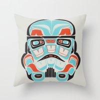 Skull Warrior - Alliance… Throw Pillow