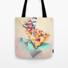 Triangle Rush! Tote Bag