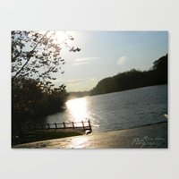 calm life Canvas Print
