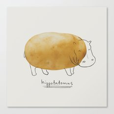 Hippotatomus Canvas Print