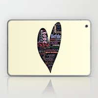 Multilingual Love Laptop & iPad Skin