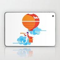 Laptop & iPad Skin featuring Scientist Traveler by Maria Fedoseeva