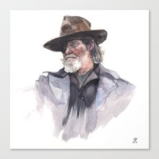 Jeff Bridges (Rooster Cogburn) Canvas Print