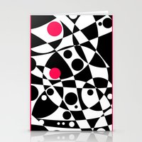 Its Not Just Black or White Stationery Cards