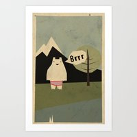 Yeti Cold Art Print