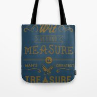 Wit Beyond Measure Is Ma… Tote Bag
