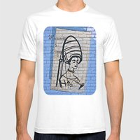 Under the Dryer  Mens Fitted Tee White SMALL