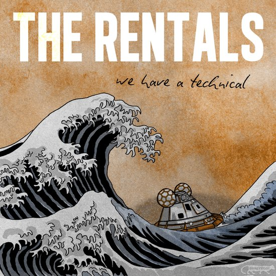 7 inch series: The Rentals - We have a technical Art Print