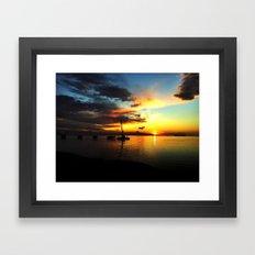 California Sunrise Framed Art Print