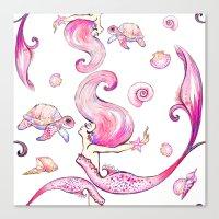 The Joyful SIren Canvas Print