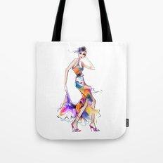 Fashion dress Tote Bag