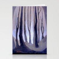 Forest Light Stationery Cards