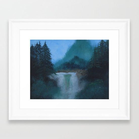 painting with bob Framed Art Print