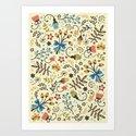 Floral Bloom Art Print