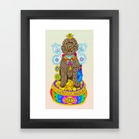 TED Framed Art Print