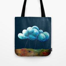 Cloud Tied Tote Bag