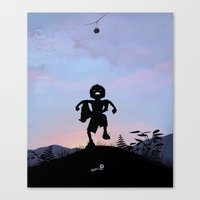 Hulk Kid Canvas Print
