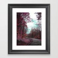 Passing Through II Framed Art Print