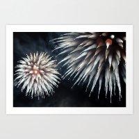 Fireworks - Philippines 10 Art Print