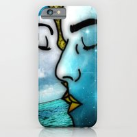 iPhone Cases featuring Lover's Kiss by Eugenia Loli
