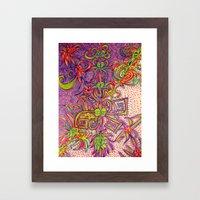 Eyescend Framed Art Print