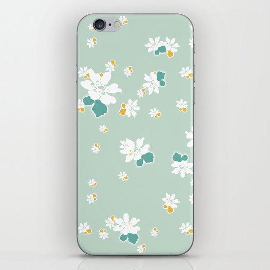 Ditsy - Eggshell iPhone & iPod Skin