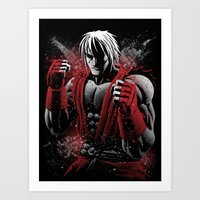 American Fighter Art Print