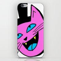 Herro Cat iPhone & iPod Skin