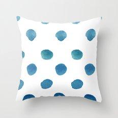 Drops. Throw Pillow