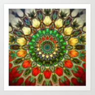 Sun Mandala 2 Art Print