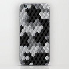 CUBOUFLAGE BLACK & WHITE iPhone & iPod Skin