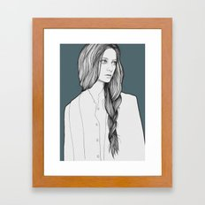Nastya Framed Art Print