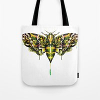 Exhotic Moth Tote Bag