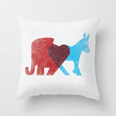 Share Opinions Throw Pillow