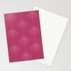 Modern leafs Stationery Cards