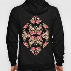 Floral black Hoody
