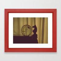 Bubblehorse Framed Art Print