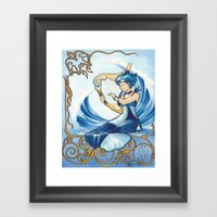 Princess Mercury Framed Art Print