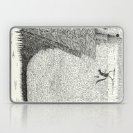 Laptop & iPad Skin featuring 'The Field By The Forest… by Alex G Griffiths