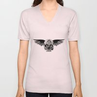 Winged Skull (Two Pieces… Unisex V-Neck