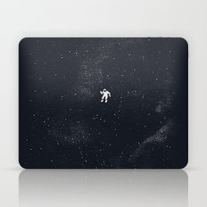 Gravity - Dark Blue Laptop & iPad Skin