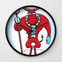 Cold Day in Hell Wall Clock