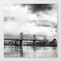Queensboro Bridge. Canvas Print