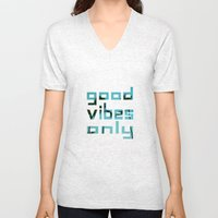 Good Vibes Only // Punta… Unisex V-Neck