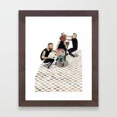 ink & snips Framed Art Print