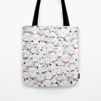 FIND THE PANDA - LUCKY C… Tote Bag