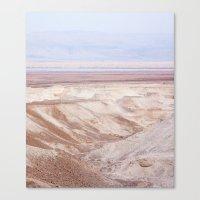 Dead Sea - Long Canvas Print