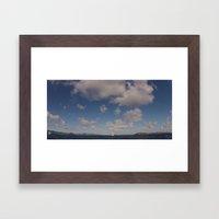 Ocean, Sky, Atlantic Framed Art Print