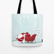 Happy Santa Tote Bag